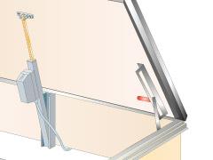 katuseluugi elektriline avamine